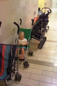 Baby Stroller Parking