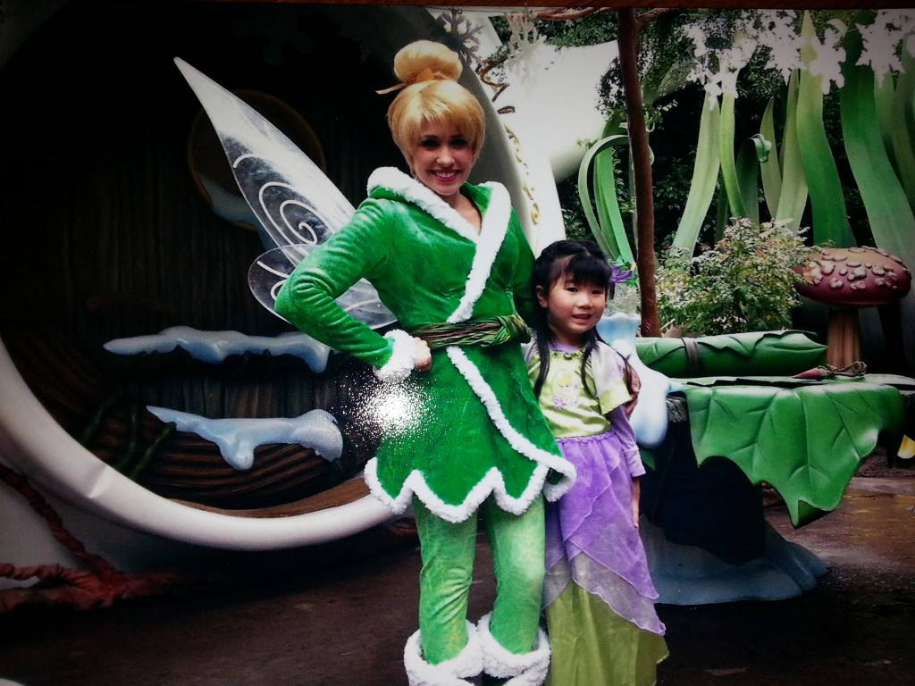 Tinker Bell and Mia