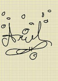 Ariel's Digital Signature