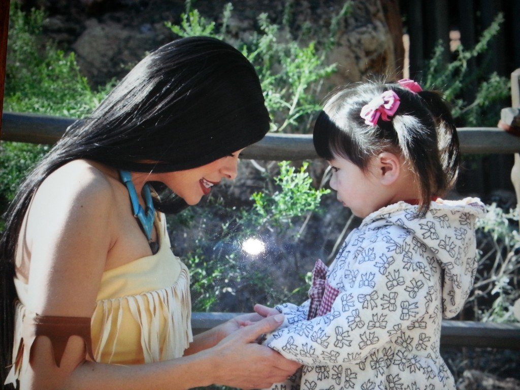 Finding Pocahontas in Frontierland
